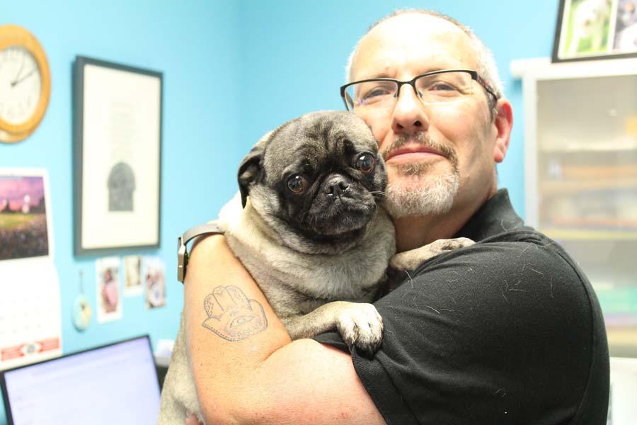 Ralph holding Frannie