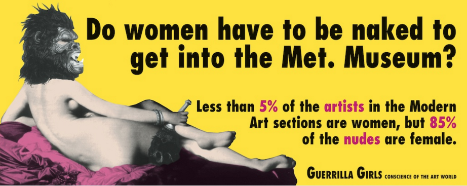 Guerrilla Girls Met