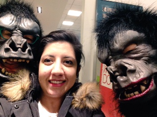Meher and the Guerrilla Girls