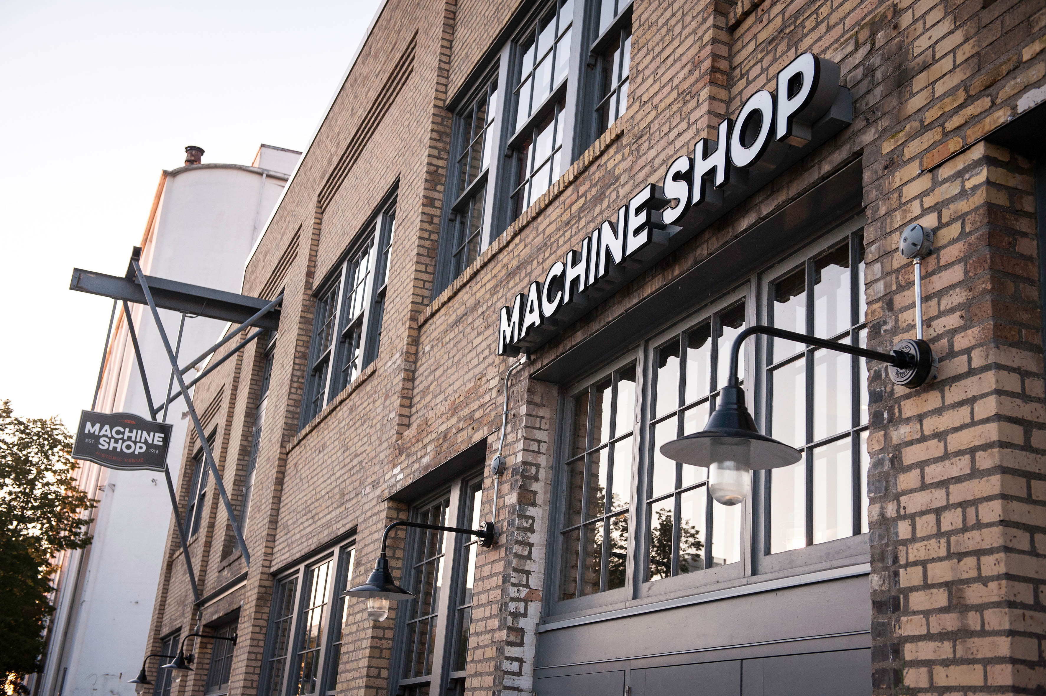 Machine Shop exterior