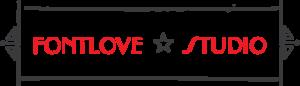 Fontlove Studio Letterpress logo